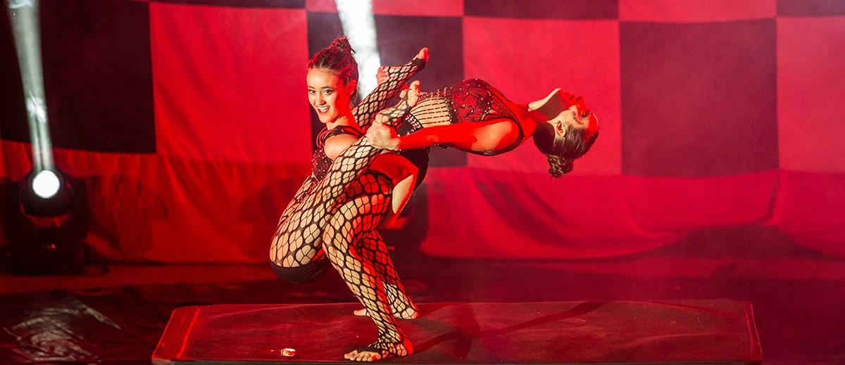La muestra de los alumnos de Artes del Circo.